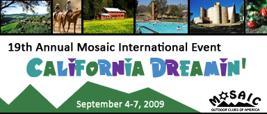 2009 Mosaic International Event Banner